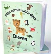 Mijn Eerste Woordjes DIEREN  boek. Peuter aanwijsboekje. Vrolijk en educatief. Neem een kijkje in de dierenwereld.
