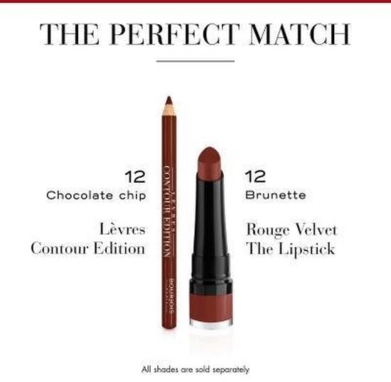Bourjois Levres Contour Edition New Lippotlood - 12 Chocolate Chip