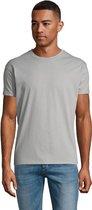 SOLS Heren Regent T-Shirt met korte mouwen (Puur Grijs)