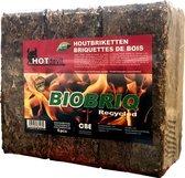 WOODcom Briketten BioBriq (2 x 9kg)