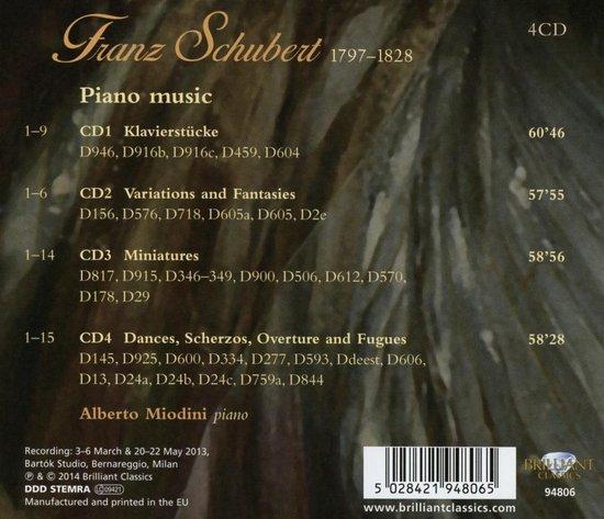 Schubert: Piano Music