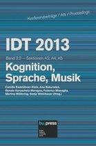 IDT 2013 Band 2.2 Kognition, Sprache, Musik