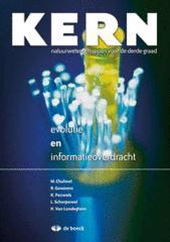 Boek cover Kern thema evolutie en informatieoverdracht - leerboek van Marleen Chalmet (Onbekend)