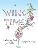 Wine Time Coloring Book