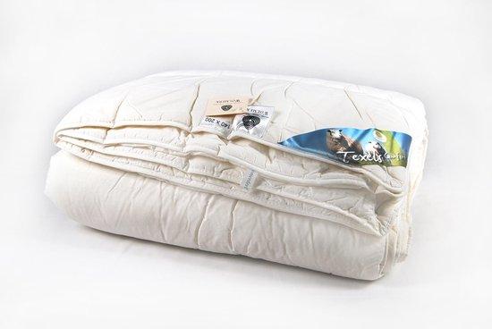 Texel wol enkel dekbed - Wit - Lits-jumeaux (260x220 cm)