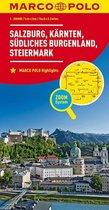 Marco Polo Salzburg - Karinthië - Stiermarken - Zuid-Burgenland