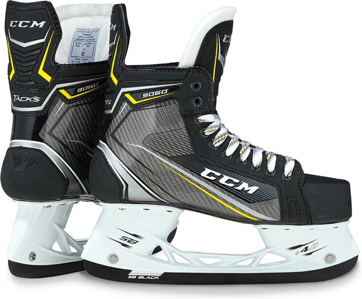 CCM IJshockeyschaatsen TACKS 9060 SR EE Zwart 45.5