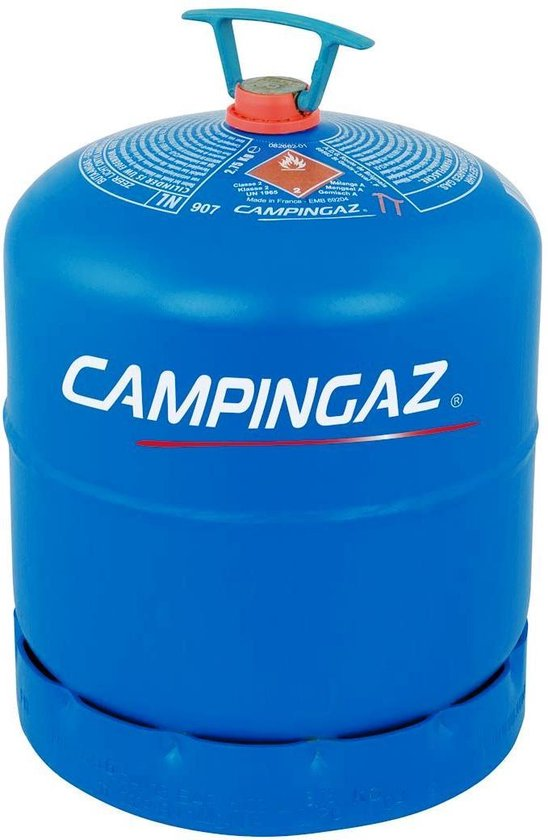 Campingaz 907 Navulbare Gasfles inhoud 2.75kg.