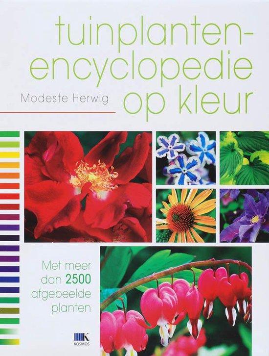 Tuinplantenencyclopedie op kleur - Modeste Herwig  