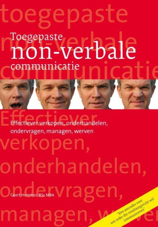 Toegepaste non-verbale communicatie