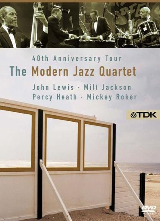 Cover van de film '40 Years Of Modern Jazz  Quartet/Ntsc/All Regions'