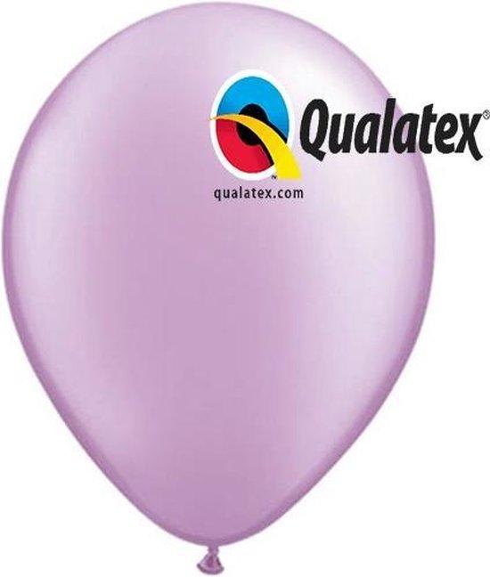 Ballonnen Metallic Lavendel 15 cm 100 stuks