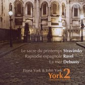 Stravinsky, Ravel, Debussy: One Piano Four Hands