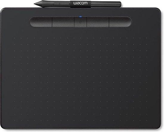 Wacom Intuos Pen & Bluetooth Medium - Tekentablet / Zwart