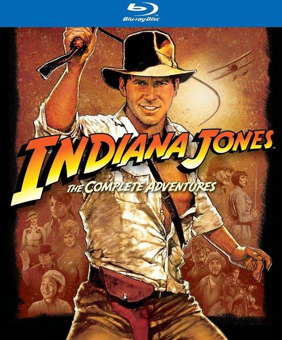 Cover van de film 'Indiana Jones - The Complete Adventures'
