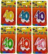 Cijferkaars 40 jaar  Groen