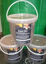Koi voer mix - 6 mm - 10 L