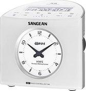 Sangean RCR9 - Wekkerradio - Wit