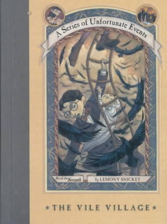Boek cover The Vile Village van Lemony Snicket (Hardcover)