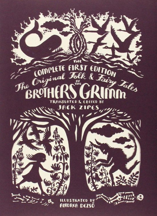 Boek cover The Original Folk and Fairy Tales of the Brothers Grimm van Jacob Grimm (Hardcover)