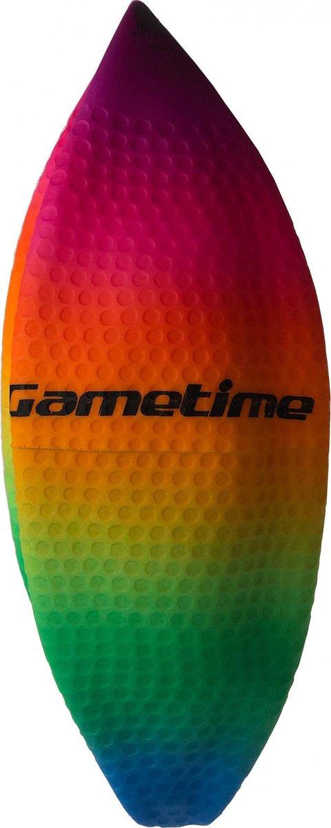 Gametime Bal Opblaasbaar Junior 23 Cm Rubber Groen/blauw