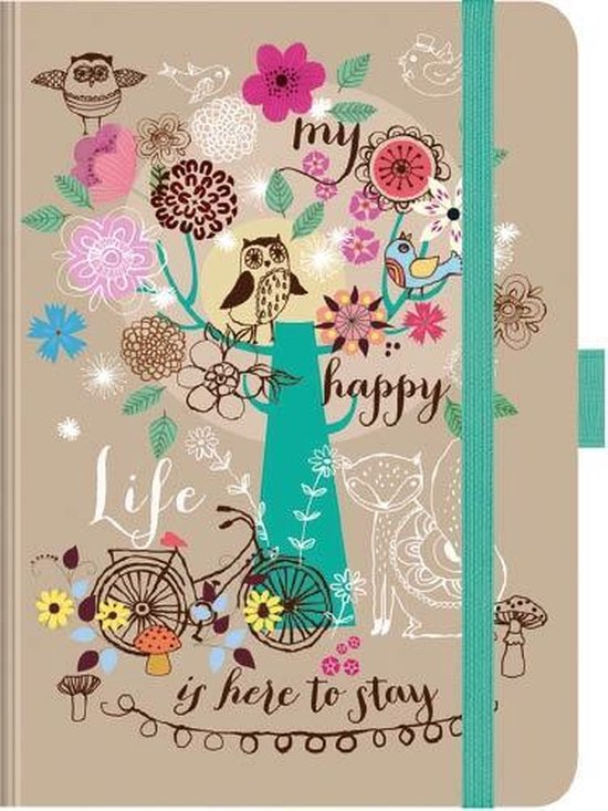 Comello Agenda My Happy Life 17 X 12 Cm Papier