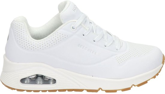 Skechers Uno Stand On Air Dames Sneakers - White - Maat 39