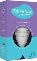 DivaCup Herbruikbare Menstruatiecup - Type 2 - Large - Transparant