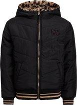 WE Fashion Meisjes reversible pufferjacket - Maat 122/128