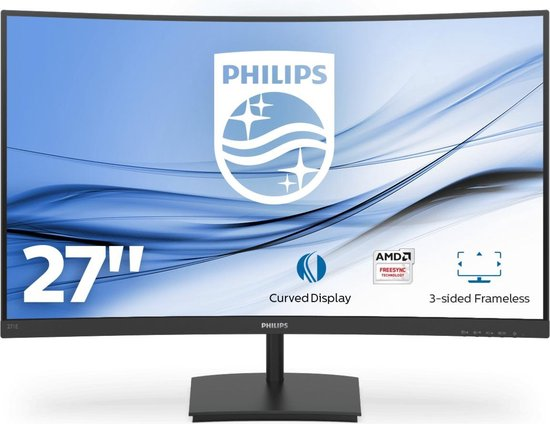 Philips 271E1SCA - Full HD Curved VA Monitor - 27 inch