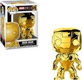 Iron Man (Chrome) #375  - Marvel - 10 year Anniversary - Funko POP!