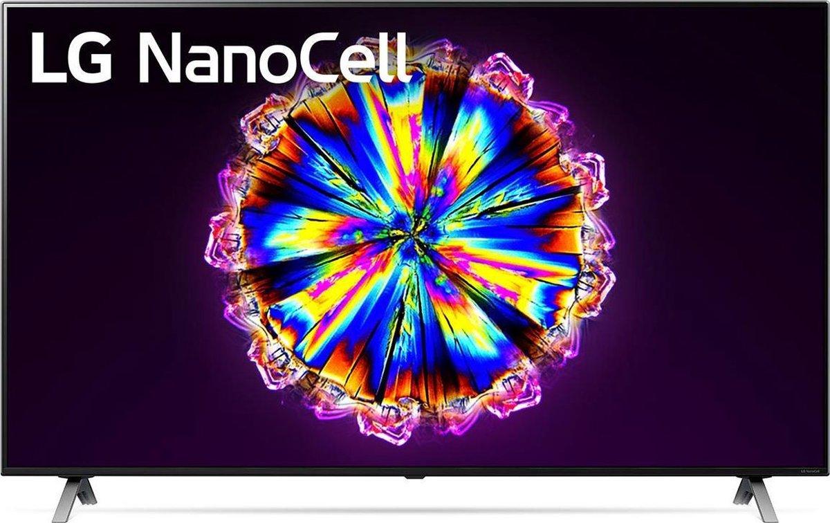 LG NanoCell NANO90 75NANO90 190,5 cm (75) 4K Ultra HD Smart TV Wi-Fi Zwart