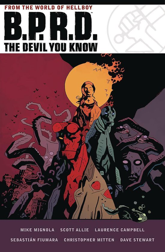 Boek cover B.p.r.d. The Devil You Know Omnibus van Mike Mignola (Hardcover)