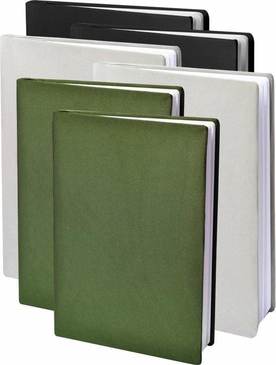 Afbeelding van Dresz Rekbare Boekenkaft - Army (zwart / grijs / groen) - A4 - 6-pack speelgoed