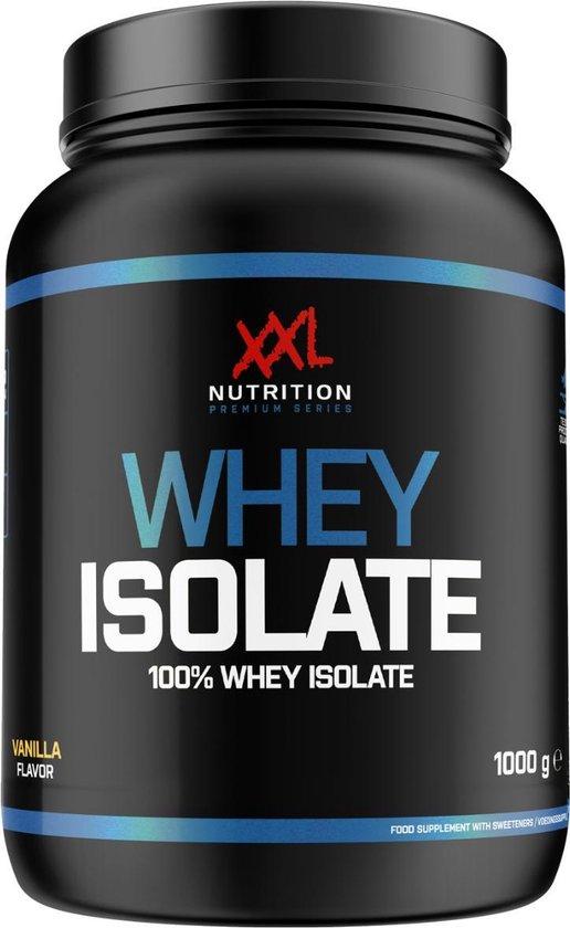 XXL Nutrition Whey Isolaat - Proteïne Poeder / Proteïne Shake - Aardbei 1000 gram