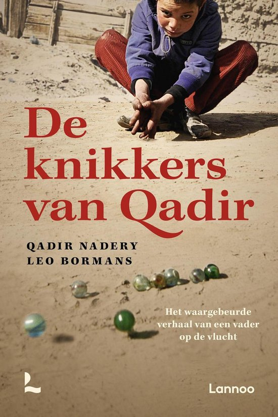 Boek cover De knikkers van Qadir van Qadir Nadery (Onbekend)