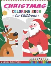 Christmas Coloring Book for Childrens