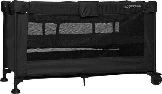 Product: Koelstra Travelsleeper Campingbedje - met verhoger - Zwart, van het merk Koelstra