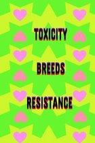 Toxicity Breeds Resistance