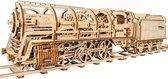 Ugears Houten Modelbouw - Locomotief