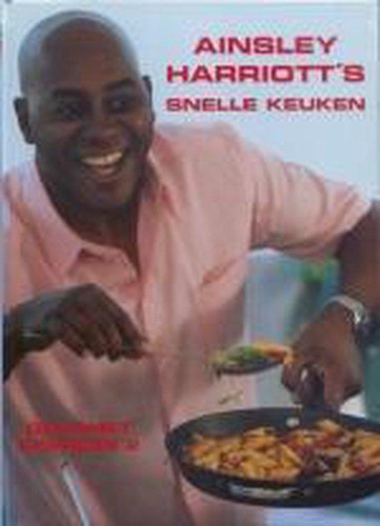 Cover van het boek 'Ainsley Harriott's snelle keuken'