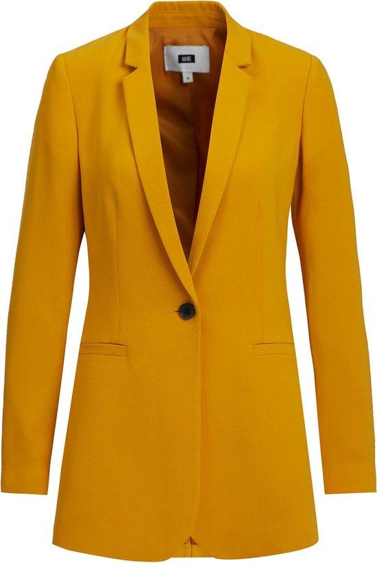 WE Fashion Dames regular fit blazer met structuur Maat S (34)