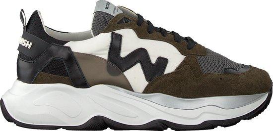 Womsh Heren Lage sneakers Futura Heren - Groen - Maat 43