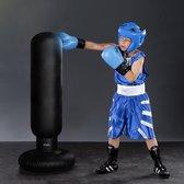 MikaMax - Opblaasbare Mini Boksbal Voor Kinderen - Bokszak Met Stevig Vulbare Voet - 103 cm