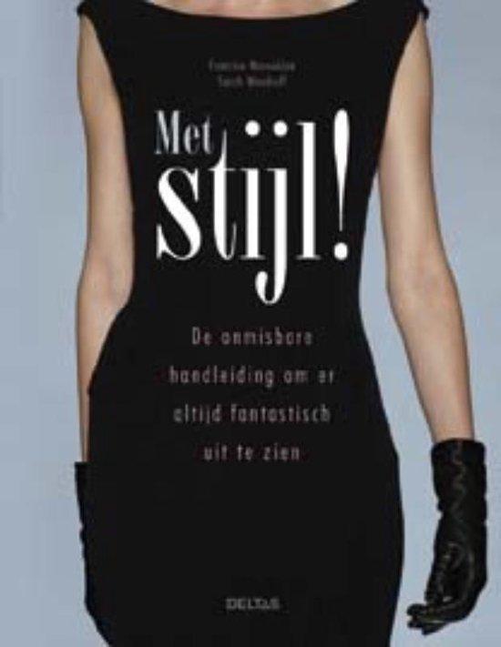 Cover van het boek 'Met stijl !' van Francine Maroukian en Sarah Woodruff