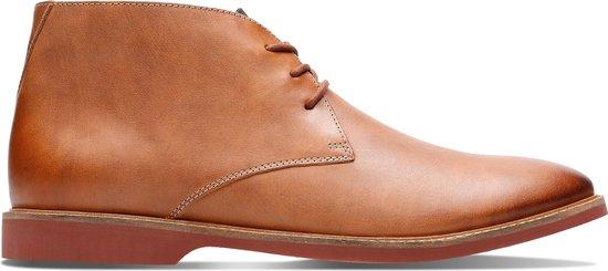 Clarks - Herenschoenen - Atticus Limit - G - tan leather - maat 8,5