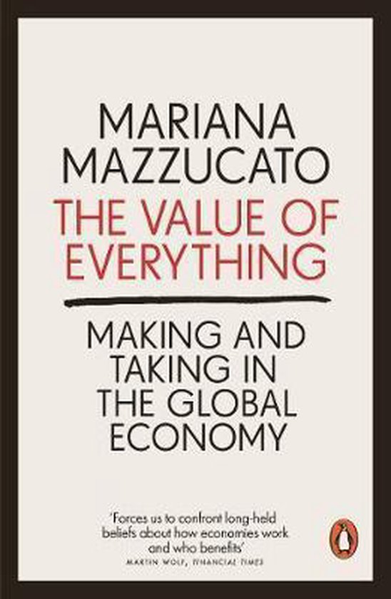 Boek cover The Value of Everything van Mariana Mazzucato (Paperback)