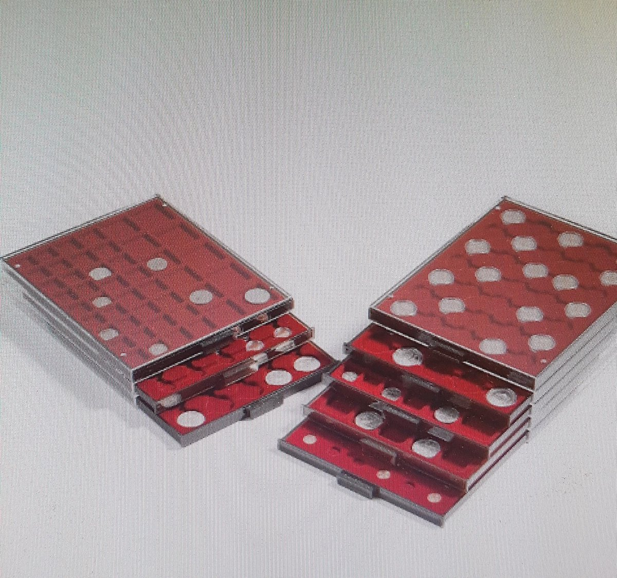 Leuchtturm muntcassette 42 vaks voor 5 euro munten