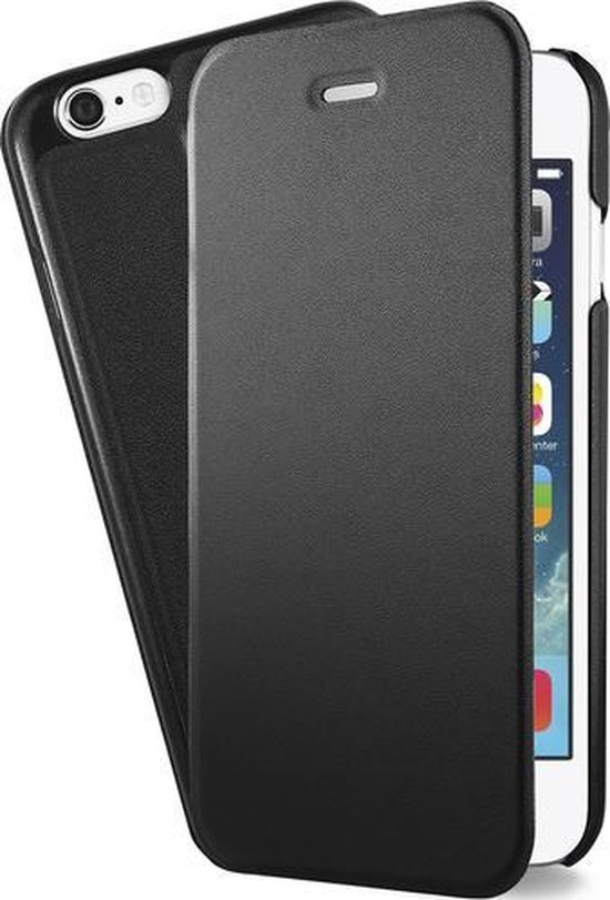 MH by Azuri booklet ultra thin - zwart - voor Apple Iphone 5/5S & 5SE