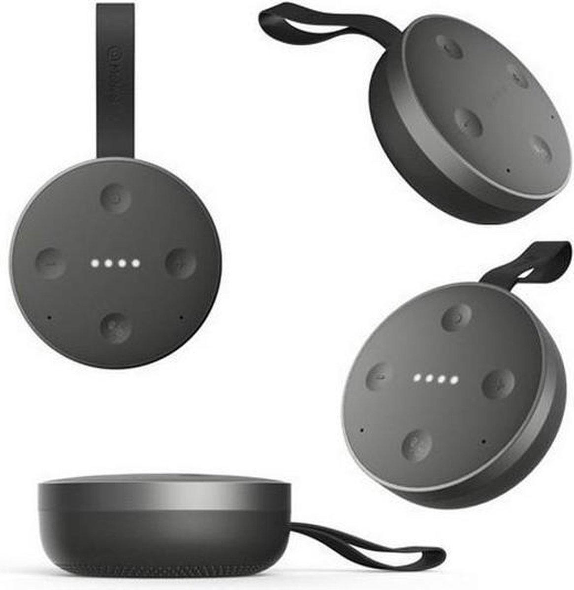 Mobvoi TicHome Mini - Waterbestendige Draagbare Smart Speaker - Zwart